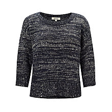 Buy Somerset by Alice Temperley Sequin Detail Jumper Online at johnlewis.com