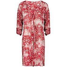 Buy Sandwich Ornament Printed Tunic Top, Vermillion Online at johnlewis.com