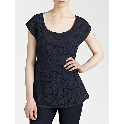 Buy Fat Face Crochet Top Online at johnlewis.com