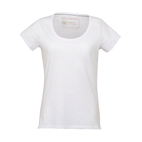 Buy Fat Face Tropez T-Shirt, White Online at johnlewis.com