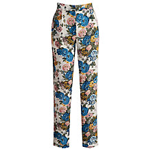 Buy Joules Aliana Floral Trousers Online at johnlewis.com