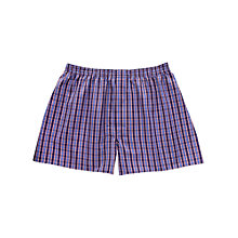 Buy Thomas Pink Check Boxer Shorts Online at johnlewis.com