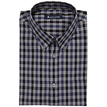 Buy Aquascutum Club Check Short Sleeve Shirt Online at johnlewis.com