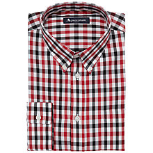 Buy Aquascutum Club Check Long Sleeve Shirt Online at johnlewis.com