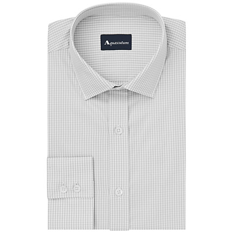 Buy Aquascutum Borley Gignham Check Long Sleeve Shirt Online at johnlewis.com