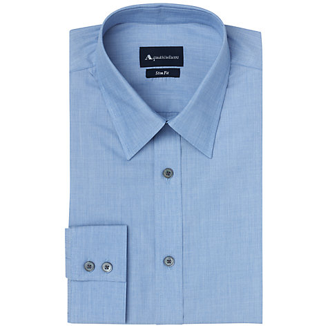Buy Aquascutum Elmdon End On End Long Sleeve Shirt Online at johnlewis.com