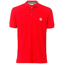 Buy Aquascutum Classic Embroidered Logo Polo Shirt Online at johnlewis.com