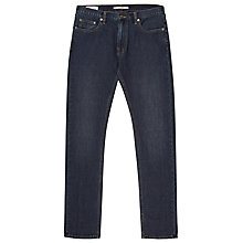 Buy Reiss Jaguar Straight Leg Jeans, Midwash Denim Online at johnlewis.com