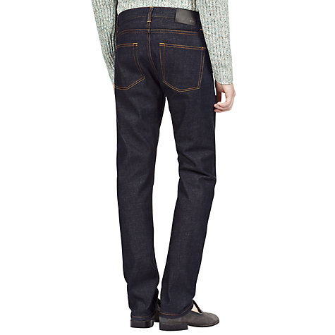 Buy Reiss Freeport Raw Selvedge Slim Fit Jeans Online at johnlewis.com