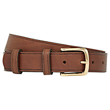 Buy Reiss Cucuzza Leather Belt Online at johnlewis.com