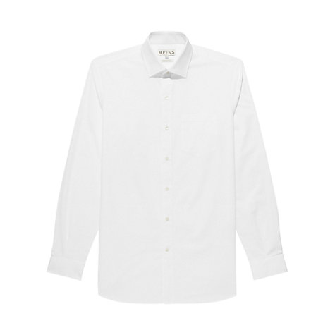 Buy Reiss Pluto Slim Fit Long Sleeve Shirt Online at johnlewis.com