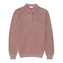 Buy Reiss Marky Long Sleeve Polo Shirt Online at johnlewis.com