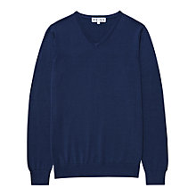 Buy Reiss Jude V-Neck Jumper Online at johnlewis.com