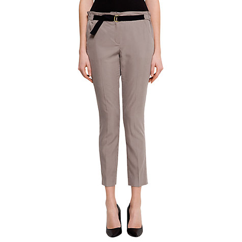 Buy Mango Utilitary Trousers, Mystery Online at johnlewis.com
