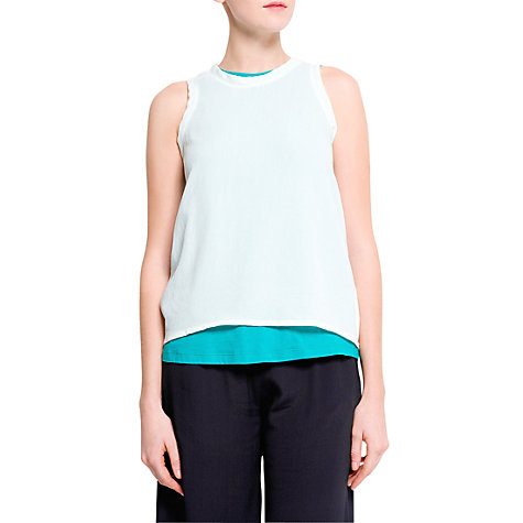 Buy Mango Double Layer T-Shirt Online at johnlewis.com
