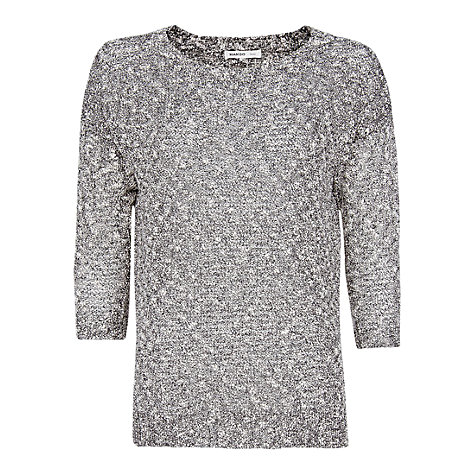 Buy Mango Irregular Sweater, Grey Online at johnlewis.com