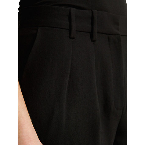 Buy Mango Straight Cut Crepe Trousers Online at johnlewis.com