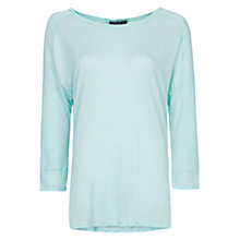 Buy Mango Sheer Panels Oversized T-Shirt Online at johnlewis.com