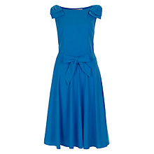 Buy Havren Shoulder Bow Dress, Kingfisher Online at johnlewis.com