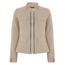 Buy Mint Velvet Multi Zip Jacket Online at johnlewis.com