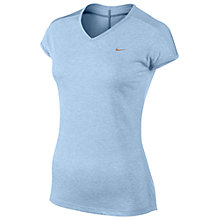 Buy Nike Women's Dri-FIT Tech V-Neck T-Shirt Online at johnlewis.com