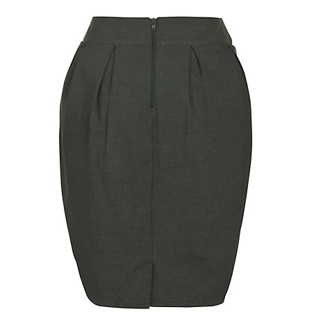 Buy John Lewis Girls' Tulip School Skirt, Grey Online at johnlewis.com
