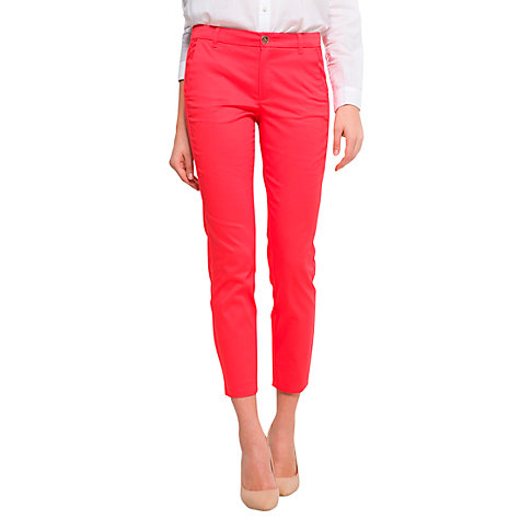 Buy Mango Suit Trousers, Coral Online at johnlewis.com