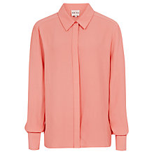 Buy Reiss Tulip Long Sleeve Shirt, Salmon Online at johnlewis.com