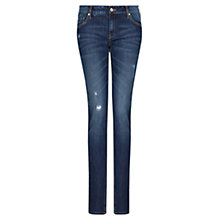 Buy Mango Dark Slim Jeans, Blue Online at johnlewis.com