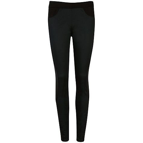 Buy Ted Baker Contrast Panel Jodhpurs, Black Online at johnlewis.com