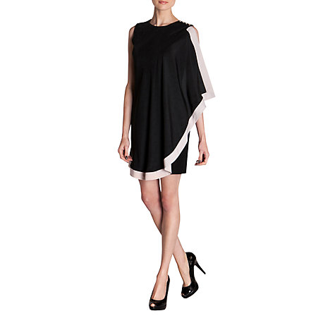Buy Ted Baker Bolty One Sided Draped Tunic Dress Online at johnlewis.com