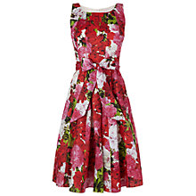 Buy Phase Eight Geranium Print Dress, Multi Online at johnlewis.com