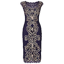 Buy Phase Eight Isabel Dress, Violet/Antique Online at johnlewis.com