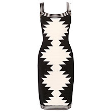 Buy Phase Eight Arizona Bandage Dress, Black Online at johnlewis.com