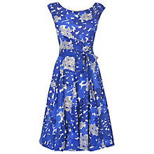 Buy Phase Eight Carianne Dress, Blue/White Online at johnlewis.com