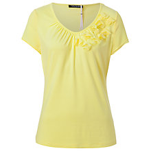 Buy Betty Barclay Ruched V-Neck T-Shirt Online at johnlewis.com