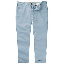 Buy Fat Face Cropped Chino Trousers, Sunbleach Blue Online at johnlewis.com