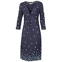 Buy Fat Face Ingrid Hummingbird Dress, Navy Online at johnlewis.com