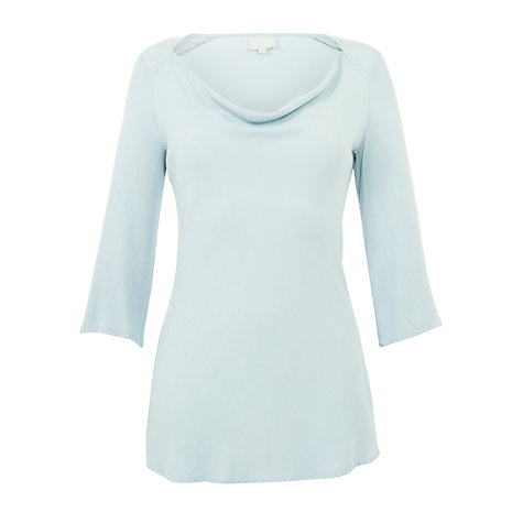 Buy Ghost Jane Crepe 3/4 Sleeve Top Online at johnlewis.com