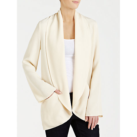 Buy Ghost Lainey Jacket, Cream Online at johnlewis.com