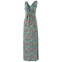 Buy Fat Face Makita Spiral Floral Maxi Dress, Multi Online at johnlewis.com