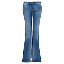 Buy Mango Flared Jeans, Blue Online at johnlewis.com
