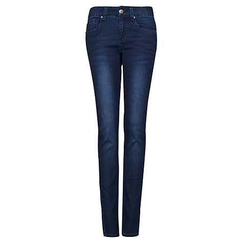 Buy Mango Super Slim Jeans, Dark Denim Online at johnlewis.com