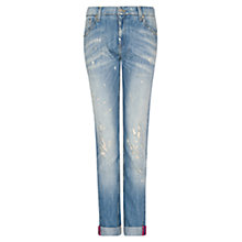 Buy Mango Boyfriend Jean, Light Blue Online at johnlewis.com