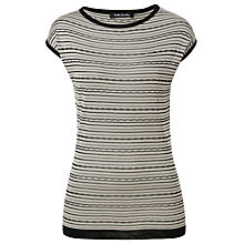 Buy Betty Barclay Striped Top, Beige/Black Online at johnlewis.com