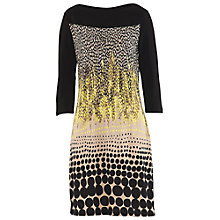 Buy Betty Barclay Graphic Print Dress, Black/Beige Online at johnlewis.com