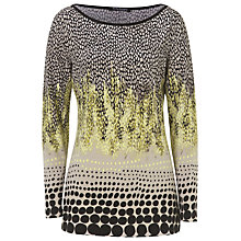 Buy Betty Barclay Graphic Print Top, Black/Beige Online at johnlewis.com