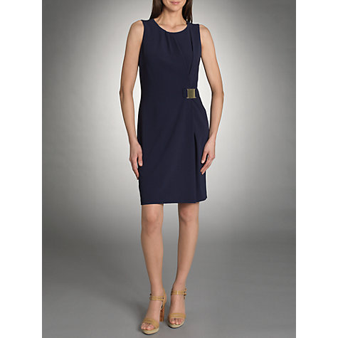 Buy Betty Barclay Wrap Dress, Blue Online at johnlewis.com
