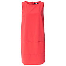 Buy Betty Barclay Two Tier Dress, Hot Coral Online at johnlewis.com