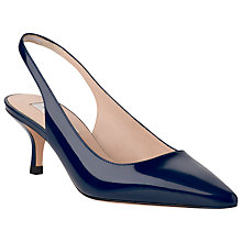 Buy L.K.Bennett Bree Patent Point Toe Kitten Heel Court Shoes Online at johnlewis.com